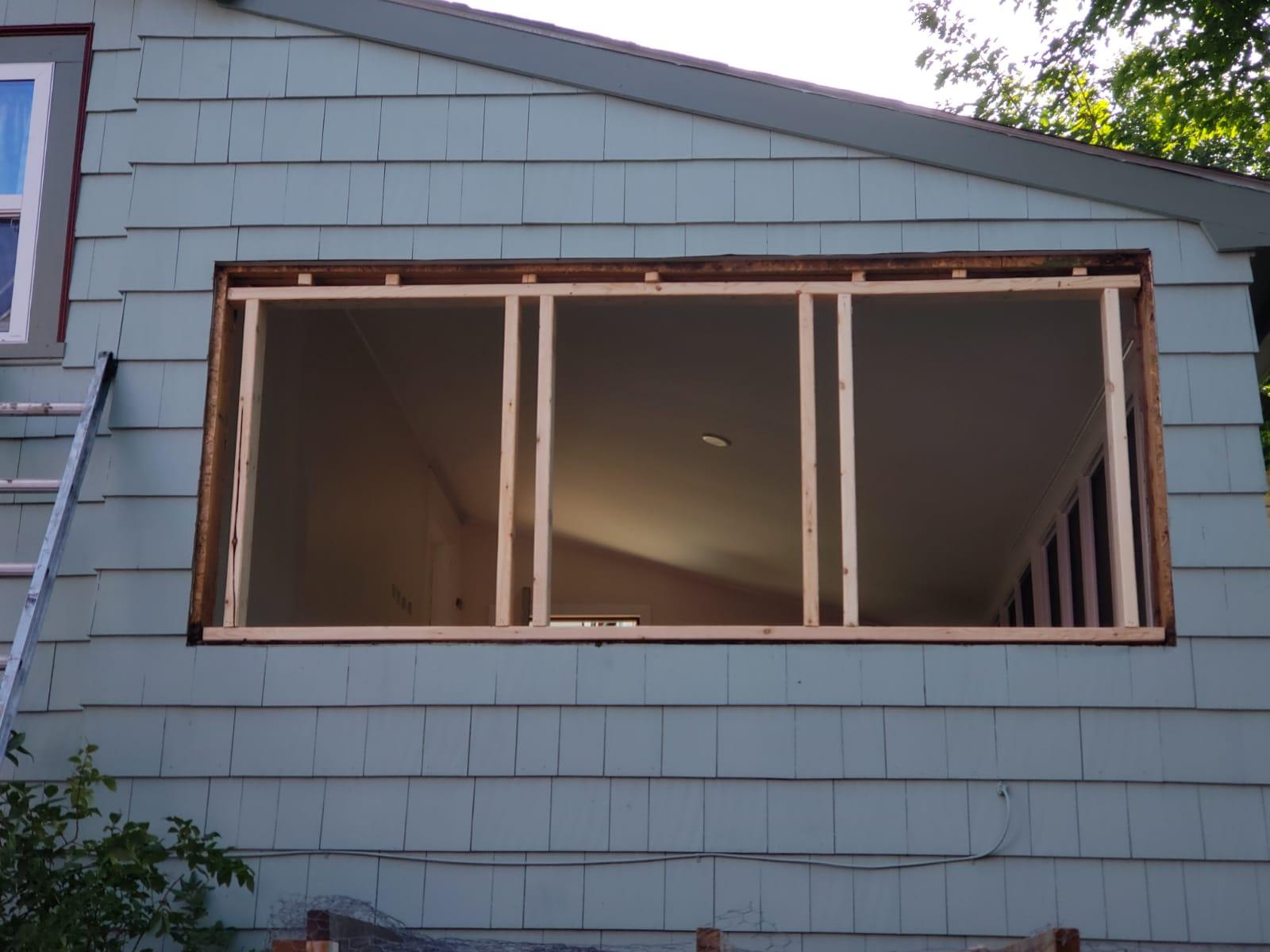 Window Installation Ext. Framing