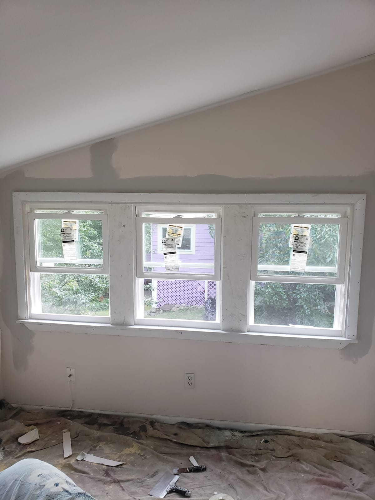 Window Installation Int. Finished